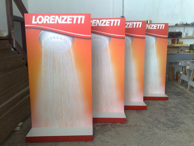 Display Personalizado Lorenzetti